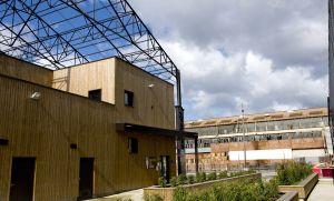 Construction d'un dojo et locaux commerciaux à Lys Lez Lannoy avec Nacarat